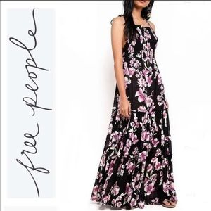 🆕 Free People Garden Party Maxi Dress in onyx